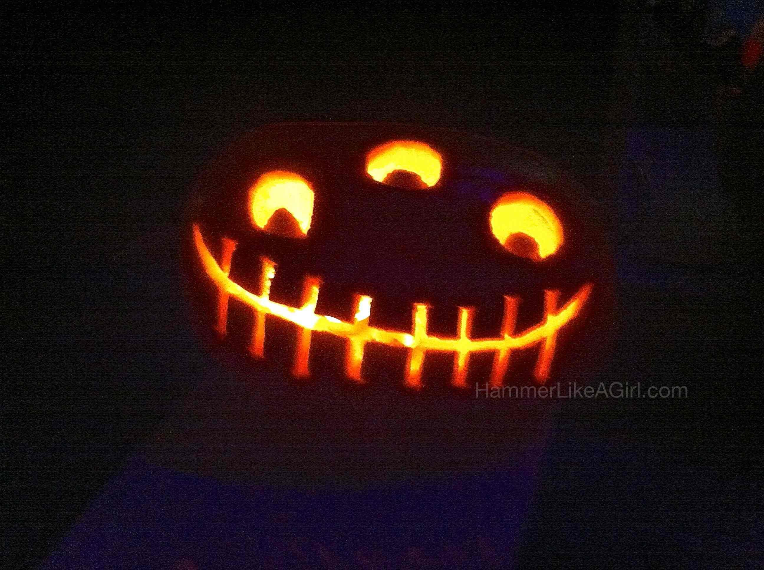 October 2012 hammer like a girlhammer like a girl for Alien pumpkin pattern