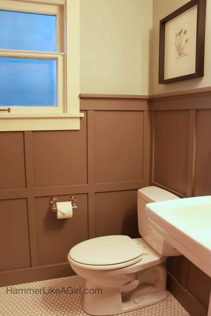 Craftsman bathroom remodel hammer like a girlhammer like for Craftsman bathroom pictures