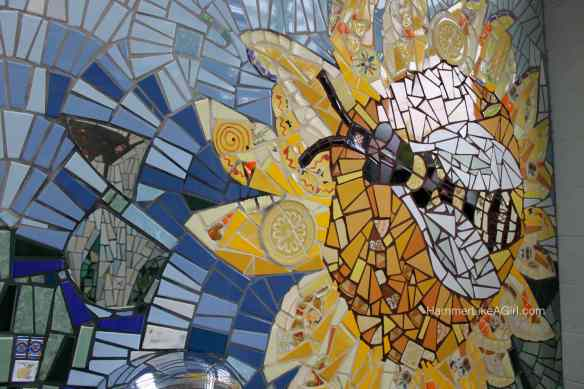 tile for mosaics - bee