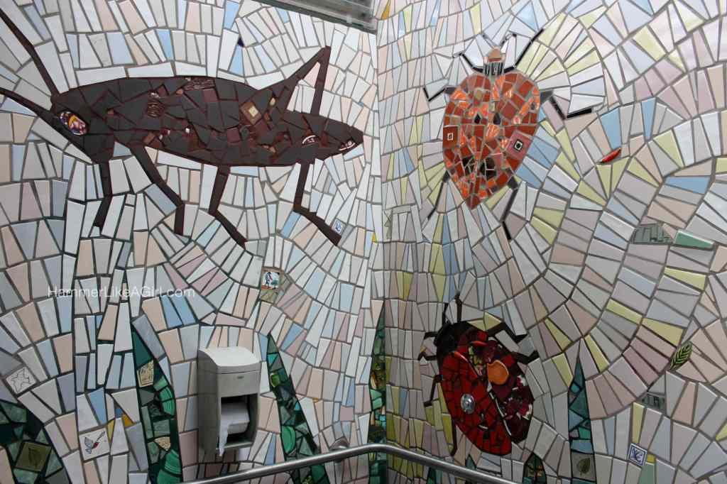 tile for mosaics - beetles