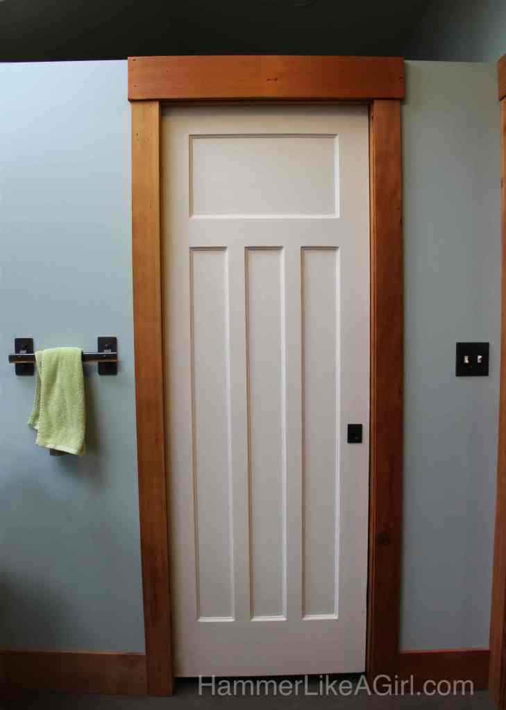 Salvaged Pocket Door 729 x 1024