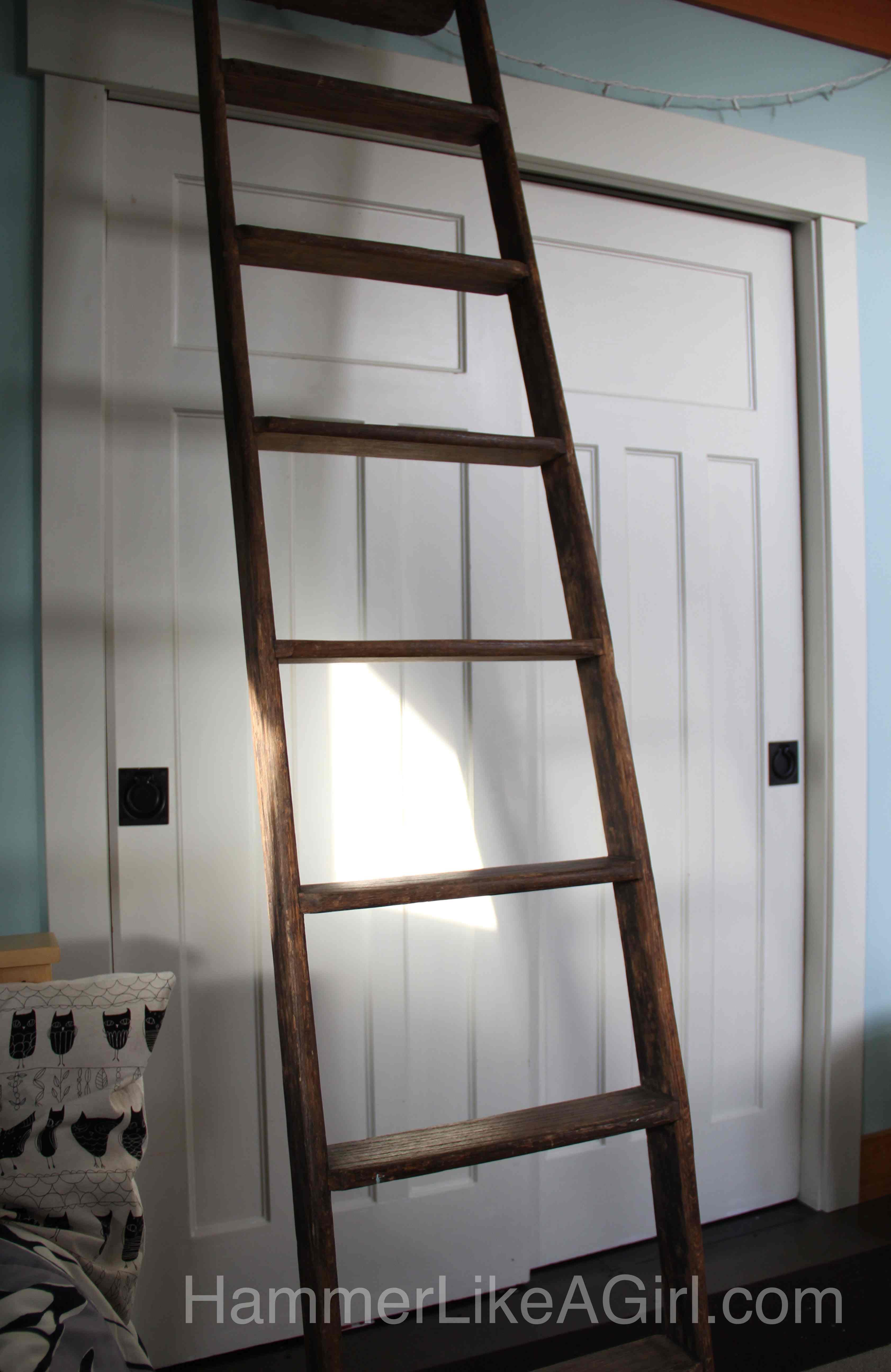 Salvaged Doors as Bypass Closet Doors & Using Salvaged Doors in a Remodel: Part 1 - Hammer Like a GirlHammer ...