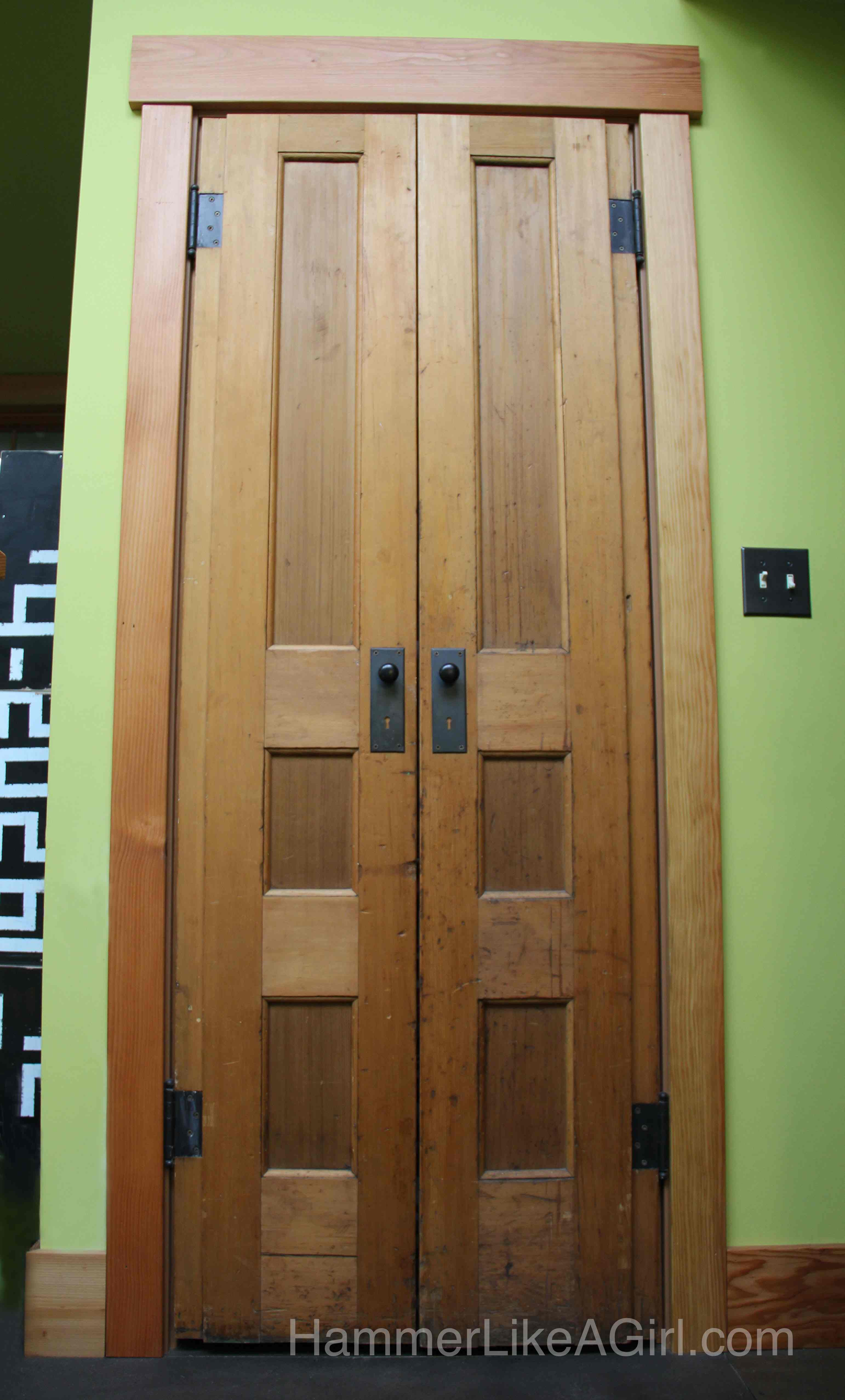 Design With Recycled Doors