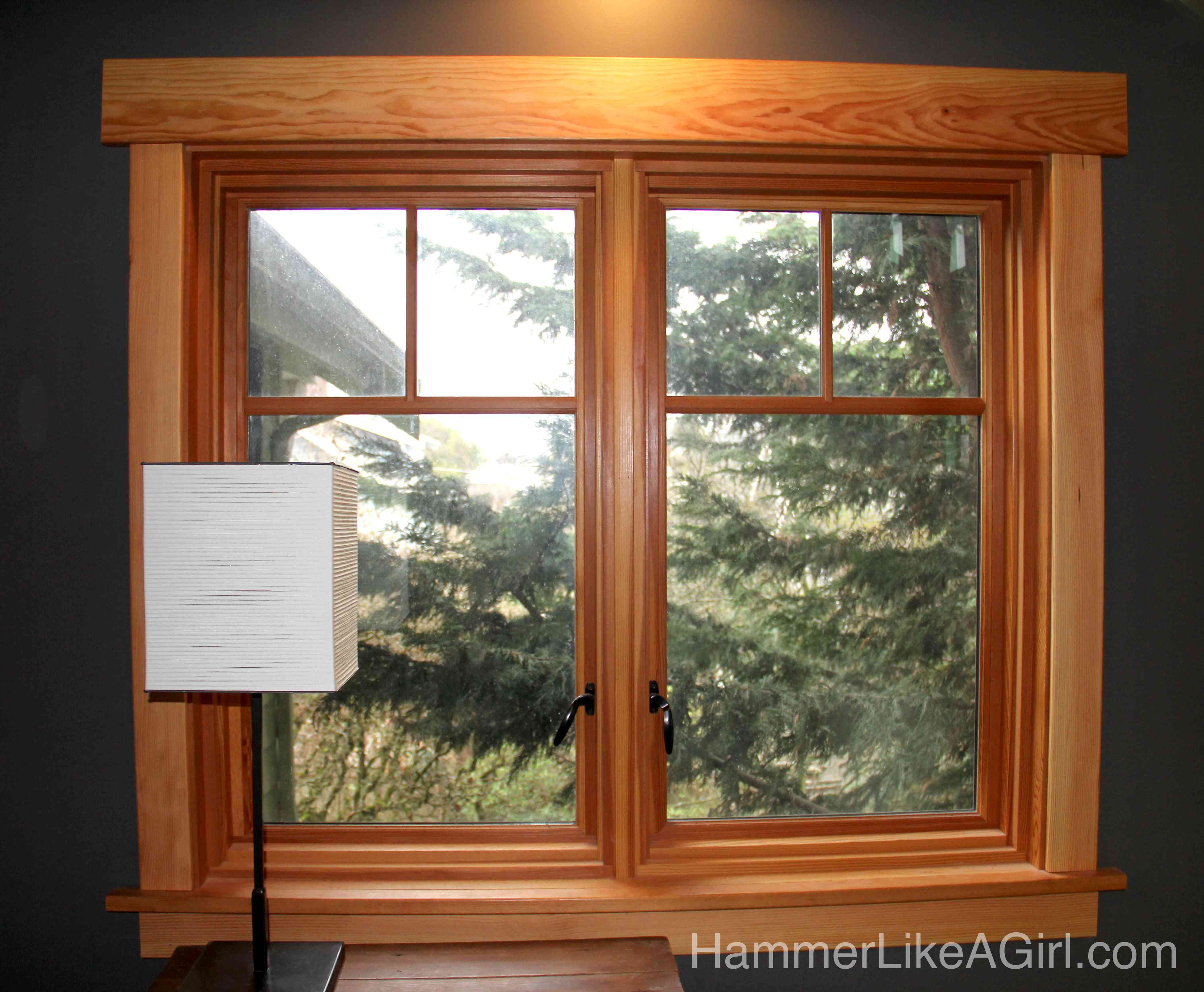 Windowtrim library2 hammer like a girl - Craftsman style window trim interior ...