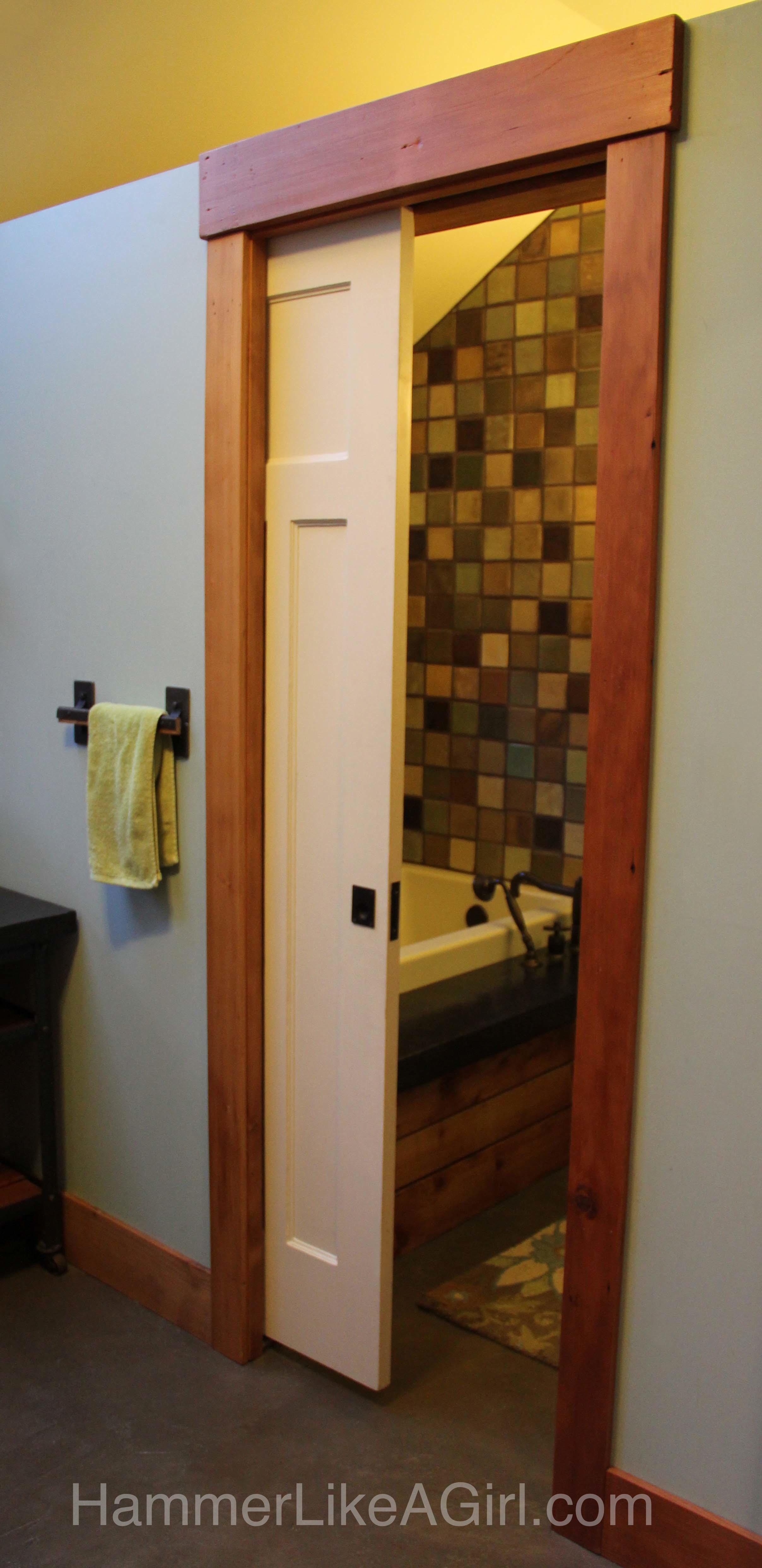 6972 Salvaged Doors As Converging Pocket Doors: Photo Of Sliding Doors  Seattle 2416 4971 #