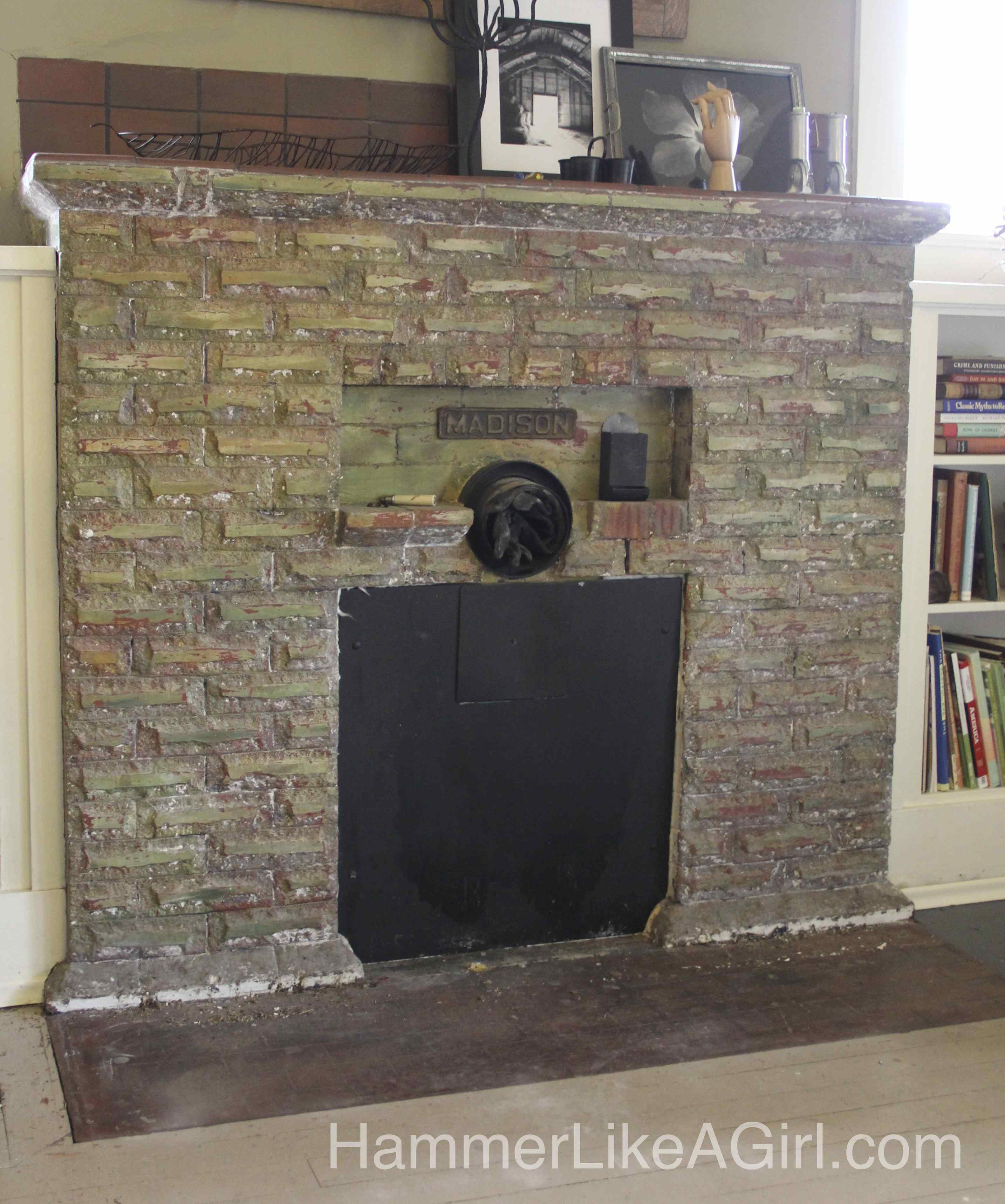 Hearth Removal: Concrete, Jackhammer, Persistence - Hammer Like a ...