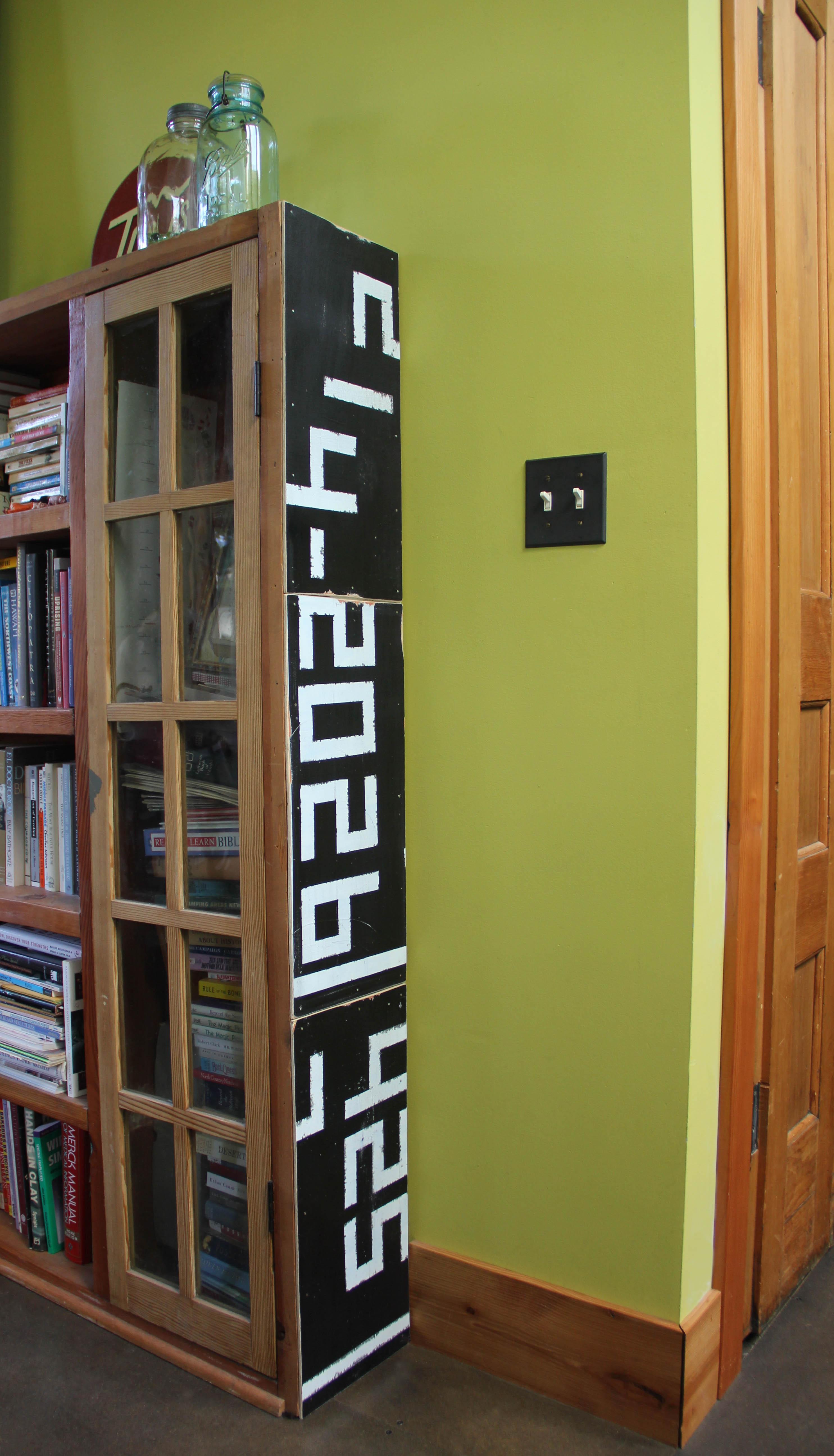 bookshelf building materials