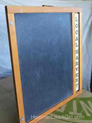 Farmers Market Chalkboard