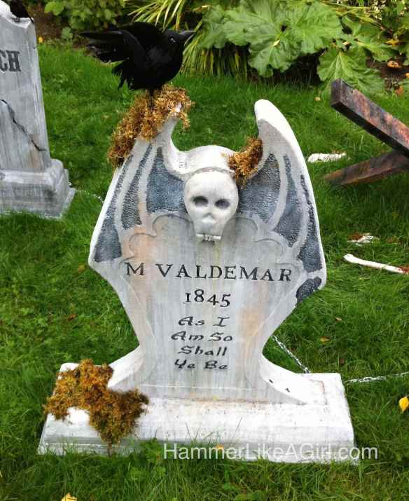 DIY Halloween decorations, Halloween decor, How to make Halloween  tombstones