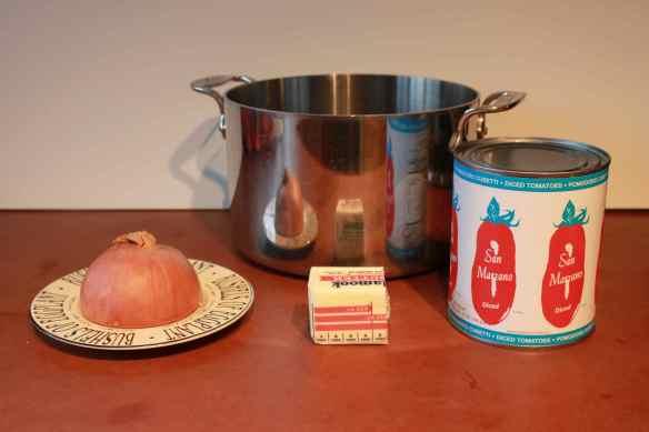 Homemade Tomato Sauce, quick sauce
