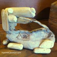 Driftwood art, Kauai art, Kiko